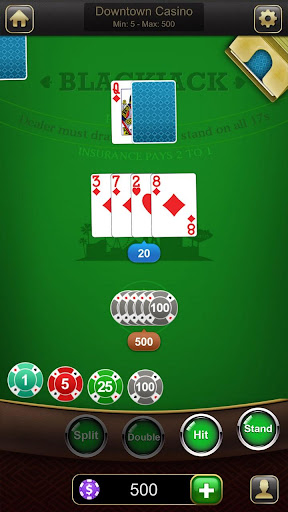 Blackjack 21 1.2.6 Mod screenshots 1