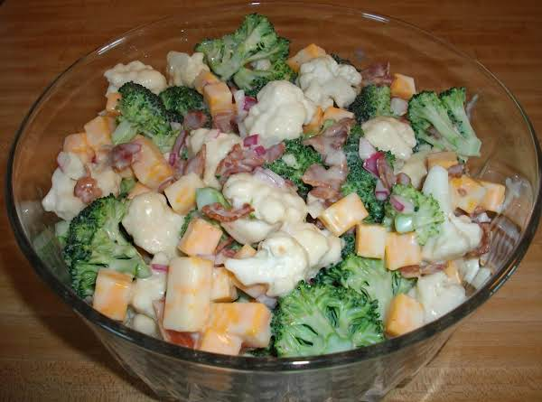 Broccoli-cauliflower Salad Recipe