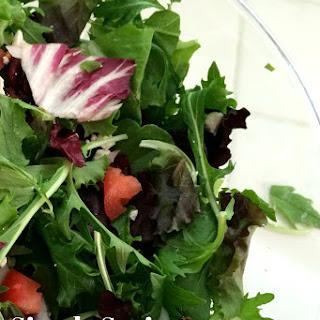 Spring Greens Salad.
