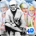 4D Sai Baba Live Wallpaper icon