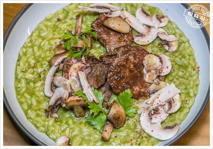 挑食Gien jia西班牙波特酒燉牛腱與香菜燉飯