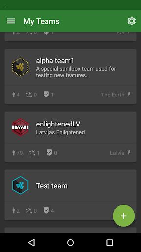 My Teams for Ingress