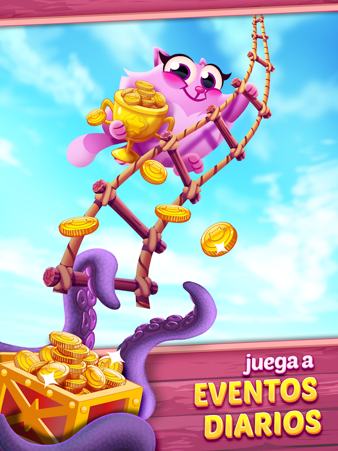 Cookie Cats Pop: captura de pantalla