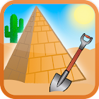 Hidden treasure hunter - dig game icon
