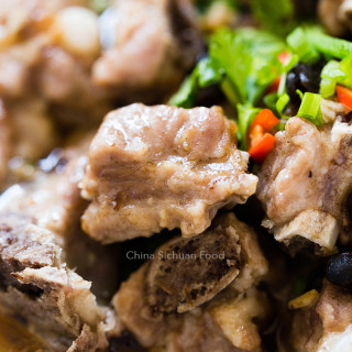 Chinese Steamed Ribs with Black Bean Sauce