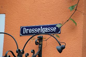 Photo: Retur til bussen gennem Drosselgasse