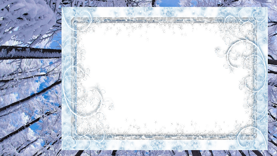 winter photo frames apps on google play. Black Bedroom Furniture Sets. Home Design Ideas