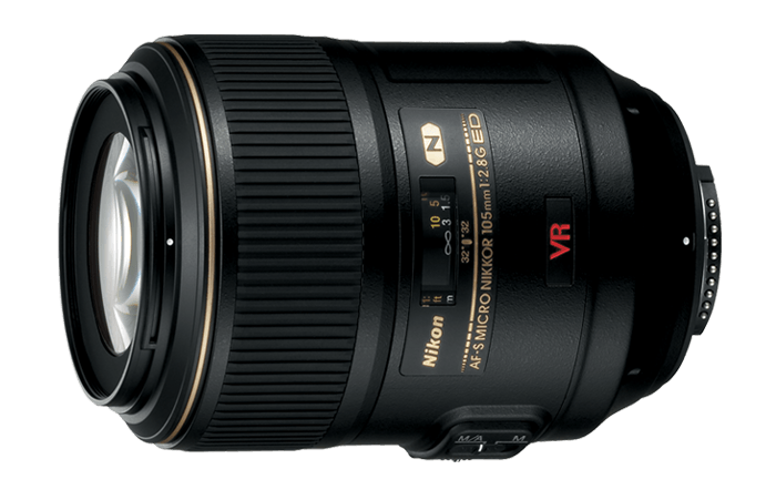 Nikon 105mm f / 2.8 VR Micro