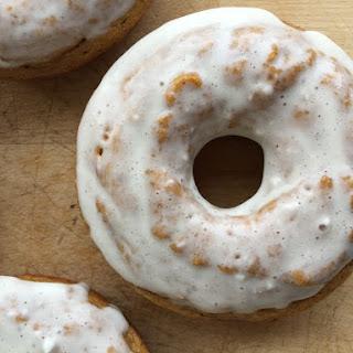 Pumpkin Protein Donuts