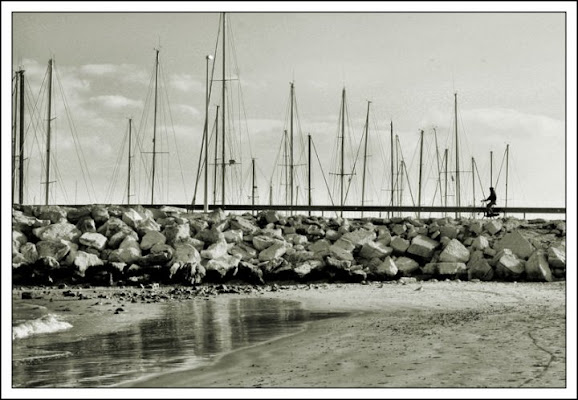 Il molo sul porto _1 di Vilcri