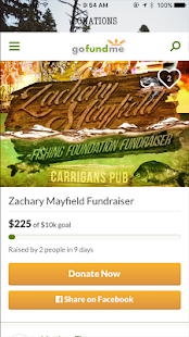 Zachary Mayfield Fundraiser - náhled