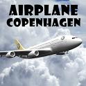 Airplane Copenhagen icon