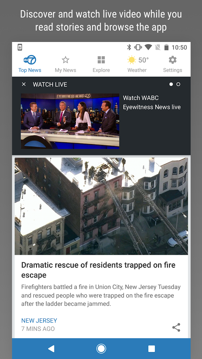 WABC Eyewitness News Android 5