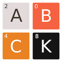 2048 Alphabet icon