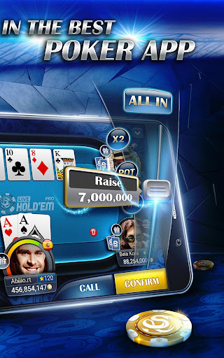Live Hold'em Pro Poker - Free Casino Games screenshot 8