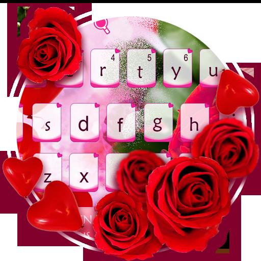 Love Rose Keyboard Theme