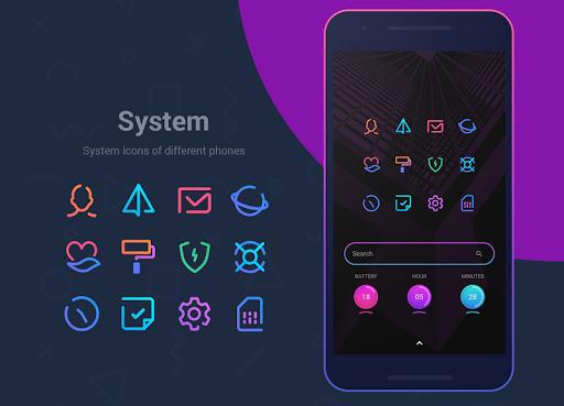 Linebit - Icon Pack  screenshots 4