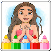 Coloring Games for moanaa