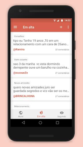 Amigo Virtual - Novas Amizades e Desabafo Anu00f4nimo 5.17 gameplay | AndroidFC 1