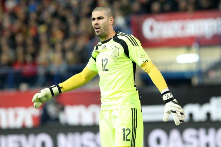 Victor Valdés à l'Euro? Le Standardman ne se fait pas trop de faux-espoirs