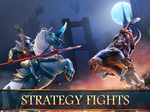 Screenshot 2 Mobile Royale MMORPG - Build a Strategy for Battle 1.2.5 APK+DATA MOD