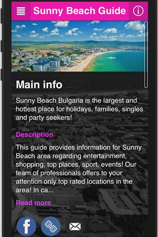 Sunny Beach Guide
