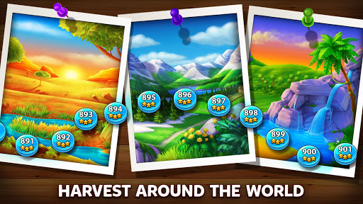 Solitaire - Grand Harvest - Tripeaks apkdebit screenshots 4