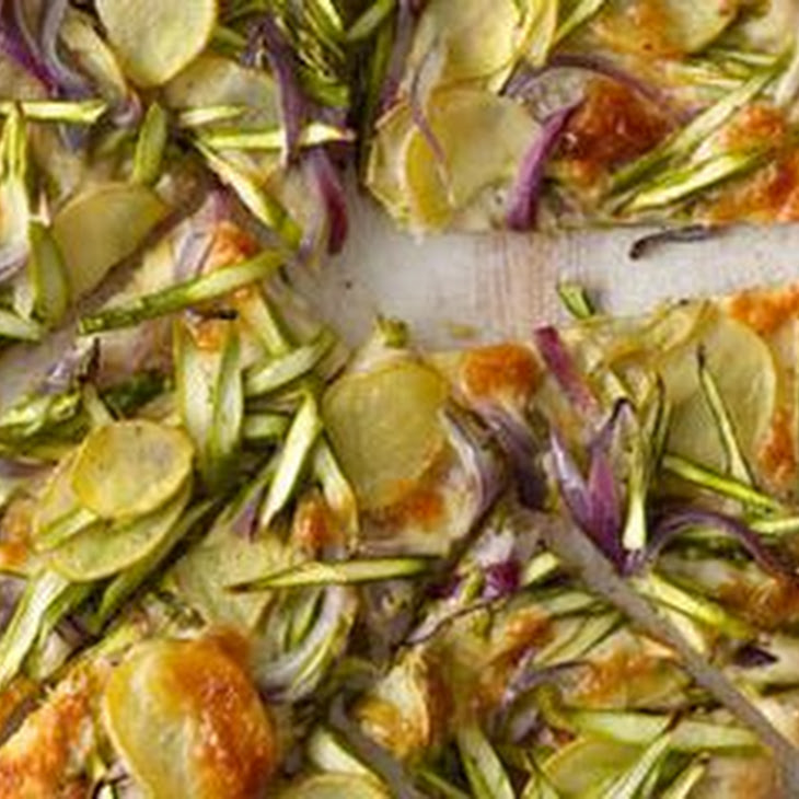 Asparagus & Potato Pizza