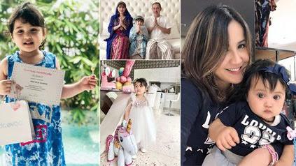 8 Potret Kylie Putri Andi Soraya, Dulu Bermata Bulat Nggemesin Bak Boneka Kini Makin Cantik Seperti Mamanya - KapanLagi.com