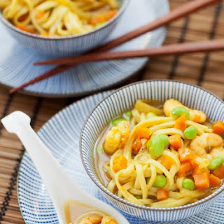 Katsu Curry Noodle Soup