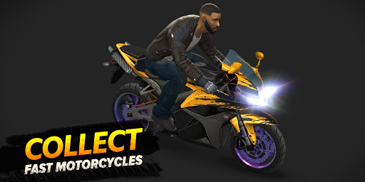 Highway Rider Motorcycle Racer  screenshots 1