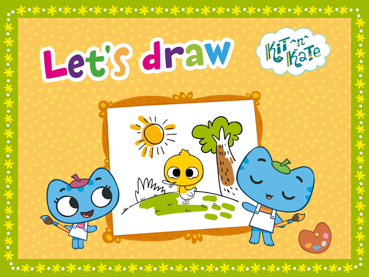 Kit^n^Kate Let's Draw- screenshot