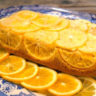 Almond-Meyer Lemon Loaf Cake with Olive Oil {Gluten-Free}