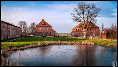 Photo: Ein Dorfteich in Mecklenburg