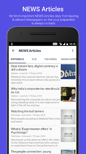 Free Current Affairs GK - UPSC IAS Civil Services 1.13 screenshots 5