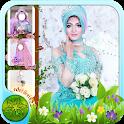 Hijab Kebaya Flower Camera icon