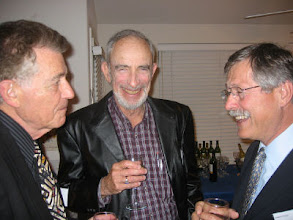 Photo: Professors Francisco Ayala, Paul Ehrlich, and Michael Clegg