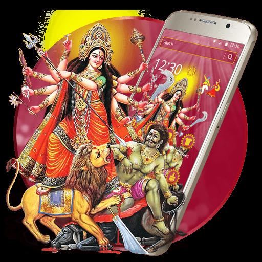 Navratri Festival Theme