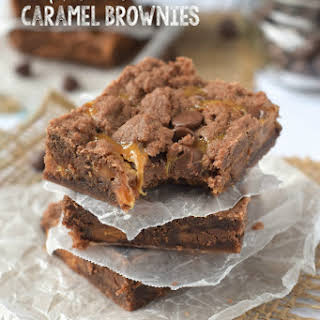 World's Best Caramel Brownies {aka Crack Brownies}.
