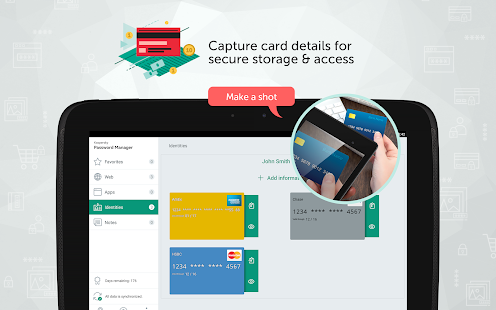 Kaspersky Password Manager & Secure Wallet Keeper Screenshot