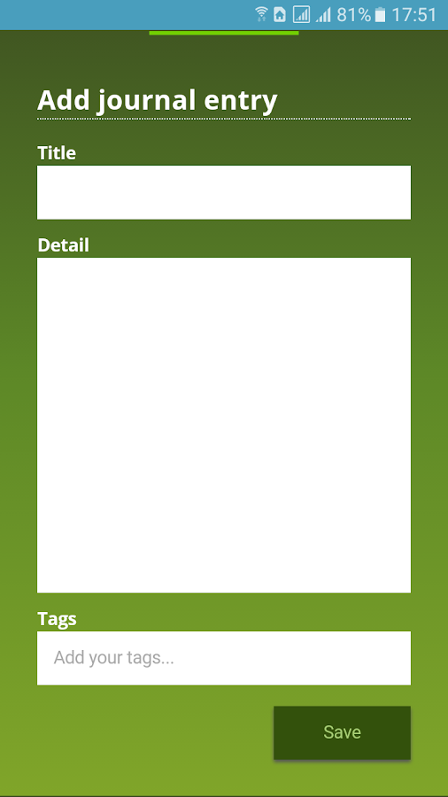 Mahara Mobile- screenshot