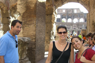 Photo: WE'RE INSIDE THE COLOSSEUM!!!!!!!
