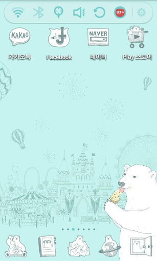 Polar Bear Launcher Theme