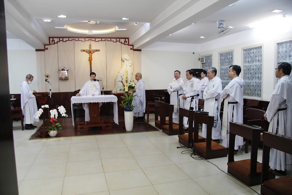 Tu Viện Thánh Alberto Cả - Phú Nhuận, Kết Thúc Tuần Tĩnh Tâm 2020