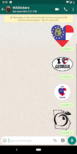 WAStickerApps Georgia Emoji for WhatsApp 1.0 APK + Mod (Paid for free / Free purchase) إلى عن على ذكري المظهر