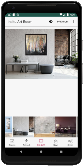 Insitu Art Room, art on wall, art in room  – (Android Apps