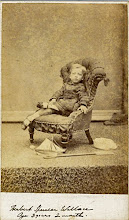 Photo: Wallace's son Bertie aged 3 years and 2 months. The image is in carte de visite format. Photographer: H. J. Mockett, Broadstairs. First published by the A. R. Wallace Memorial Fund  & G. W. Beccaloni in 2010. Scanned with permission from the original owned by the Wallace family. Copyright of scan and owner of Publication Right: A. R. Wallace Memorial Fund & G. W. Beccaloni.