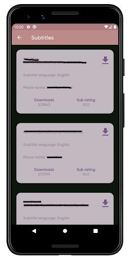 Subtitles downloader - Subhub screenshot 6