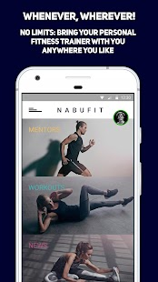 NABUFIT WORKOUTS - Your Personal Fitness Coach - náhled