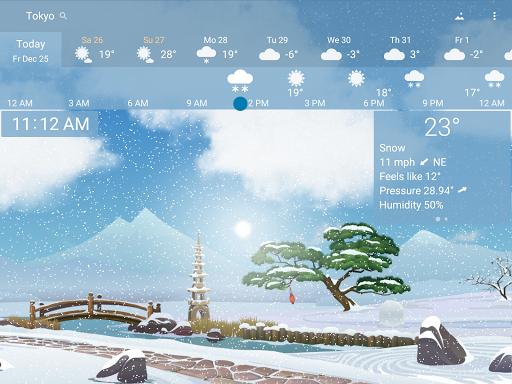 Awesome Weather - YoWindow screenshot 13